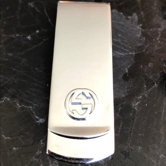 4b9b516f62bf02 Gucci Accessories | Interlocking G Money Clip | Poshmark